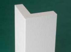 """Угол внешний без паза - гладкий/под дерево (KLEER corners)10' (3000мм) x 3-1/2"""" (88,9мм)"""